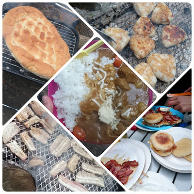 キャンプ料理