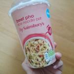 ベトナムのスープヌードル「フォー」のカップ麺をロンドンで見つけたよ。